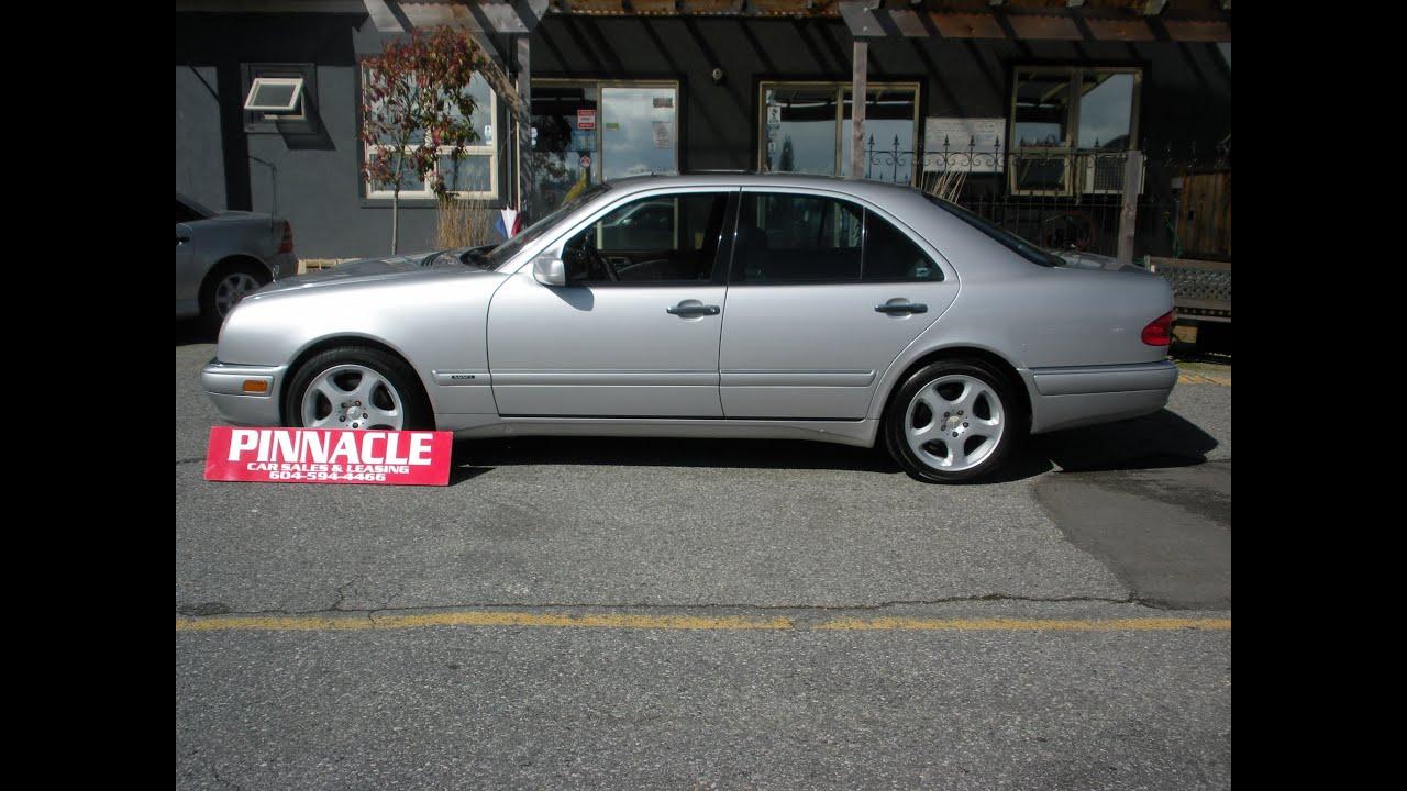 1998 MERCEDES E430 csl PINNACLE CAR SALES AND