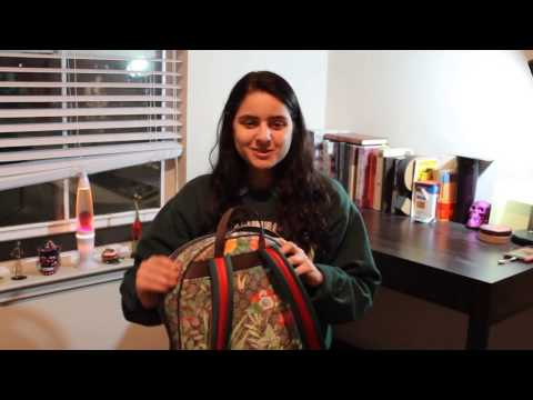 UNBOXING | Gucci tian supreme backpack