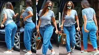 🔥 Hot Malaika Arora Flaunts Her Perfect Summer Look In Denims With Casual Top #shorts