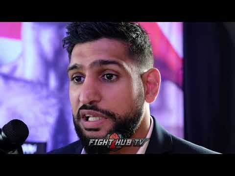 AMIR KHAN DISSES KELL BROOK HARD