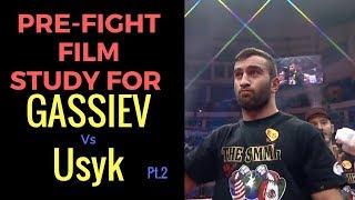 Murat Gassiev Vs Oleksandr Usyk Pre fight Film Study vs Denis Lebedev rd 4-5