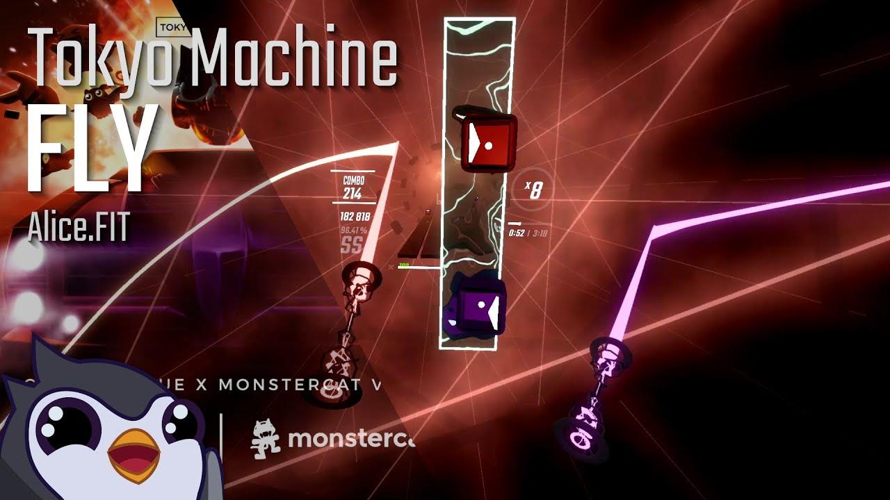 Beat Saber | Tokyo Machine - FLY [Expert+] | 96.44%