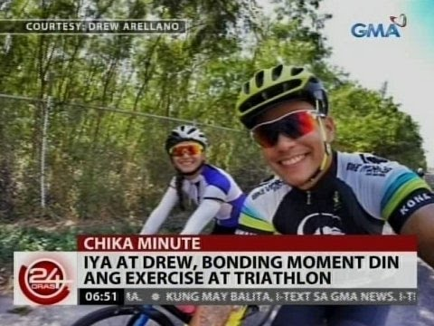 24 Oras: Iya Villania at Drew Arellano, bonding moment din ang exercise at triathlon
