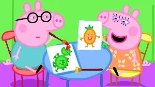 Peppa Pig Official Channel  Baby Daddy Pig and Baby Mummy Pig&#39s Playgroup Star