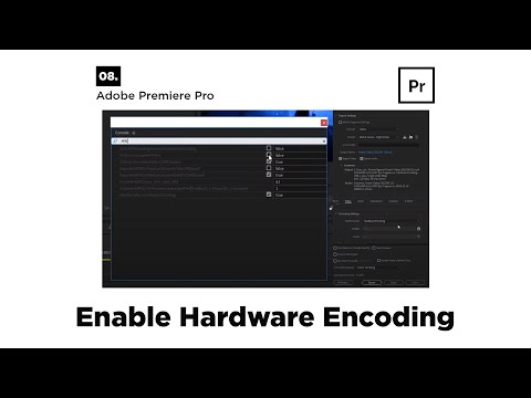 How to Enable Hardware Encoding in Premiere Pro