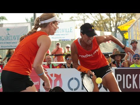 Pro Women's Doubles Gold - Minto US Open Pickleball Championships as aired on CBS Sports Network