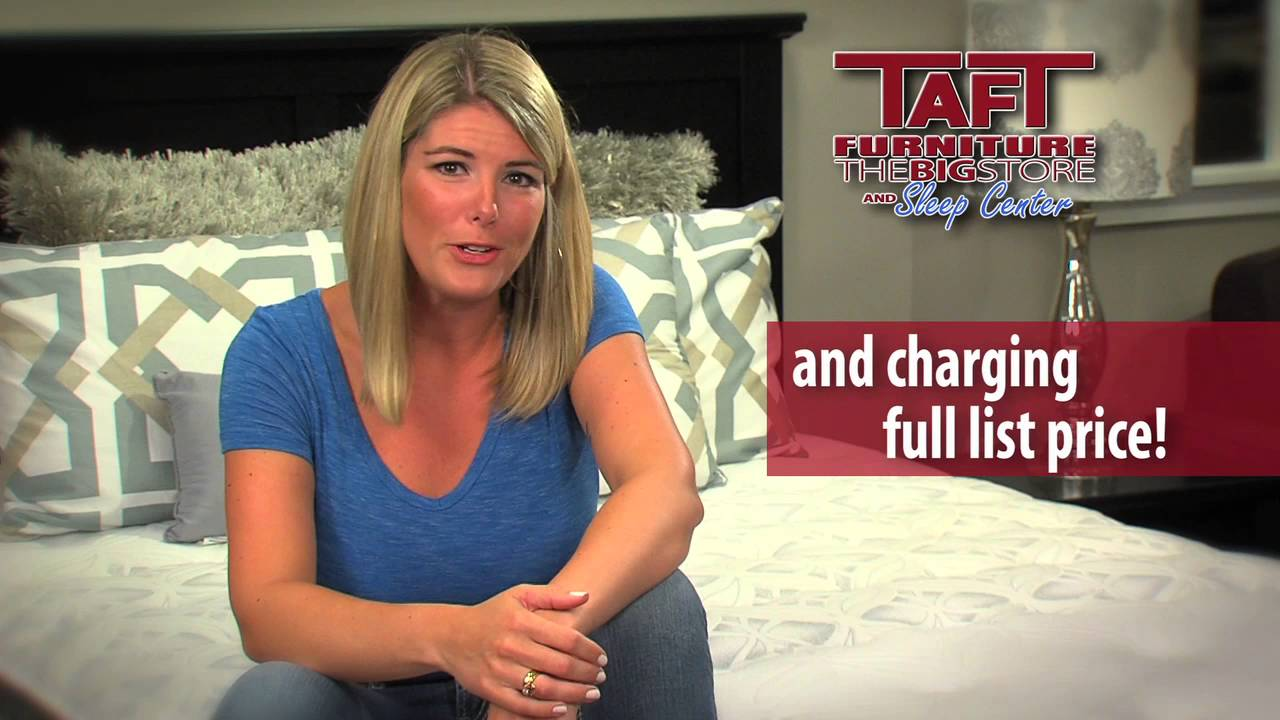 Get The Right Mattress At The Right Price For You At Taft Youtube