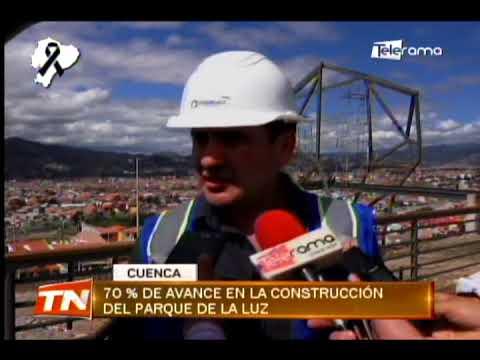 70% de avance en la construcción del parque de La Luz
