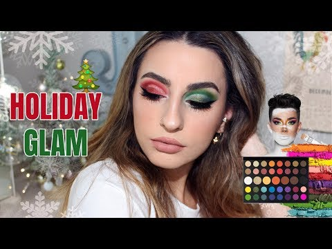 Holiday Glam feat. James Charles x Morphe Palette thumbnail
