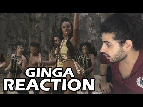 IZA - Ginga Participação especial Rincon Sapiência REACTION  Reação e comentários