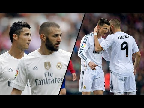 Cristiano Ronaldo & Karim Benzema ● All Assists On Each Other 2009-2018 | HD