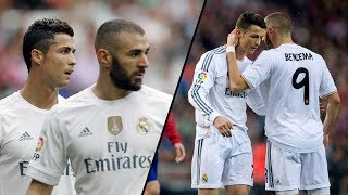 Cristiano Ronaldo and Karim Benzema ● All Assists On Each Other 2009-2018 | HD