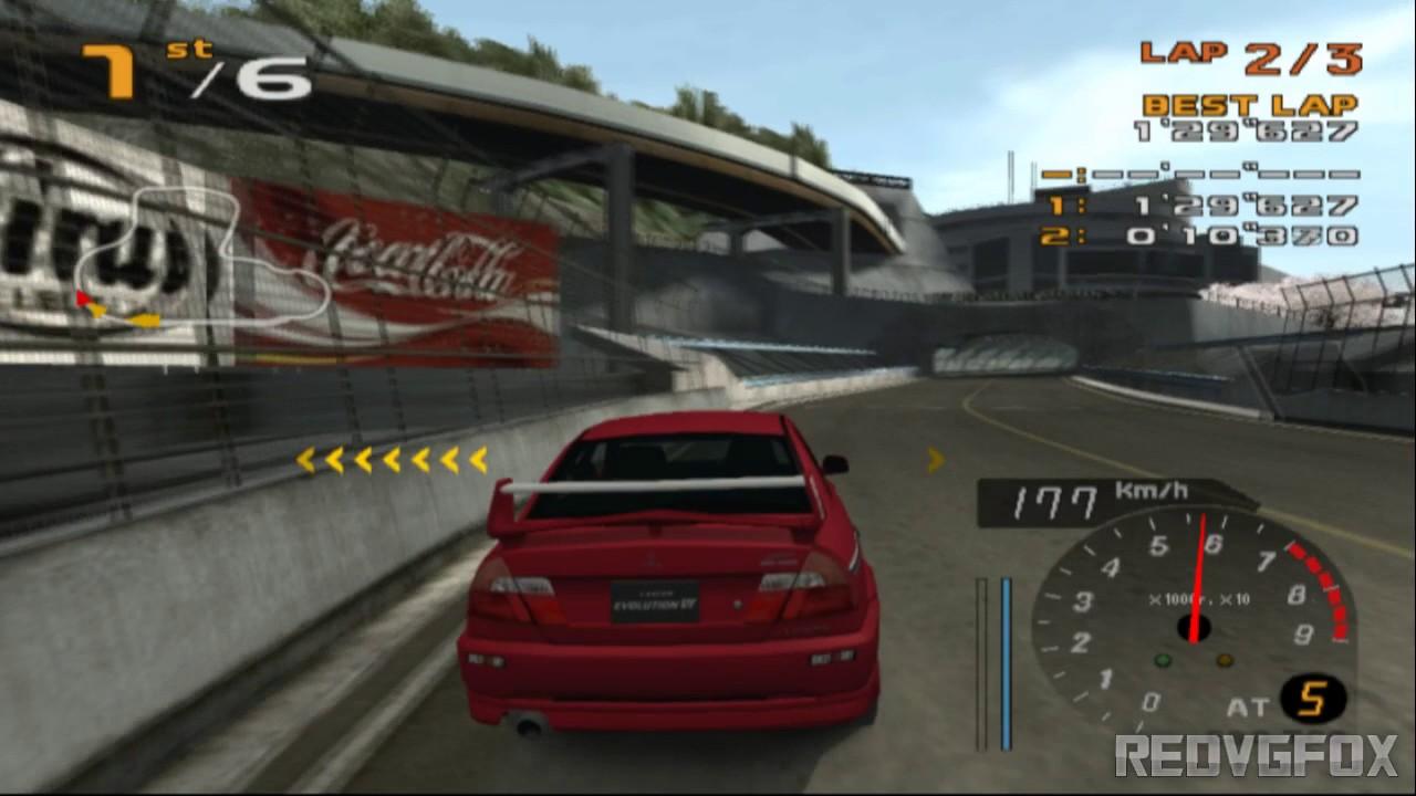 Enthusia Professional Racing - REV CITY [PCSX2]