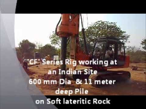 New Cost Effective Piling Rig for Indian Piling Contractors