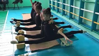 Растяжка! Художественная гимнастика. Сборы в Алмате с Екатериной Пирожковой