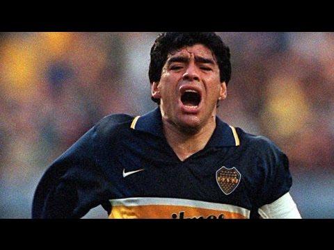 Último gol de Maradona