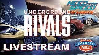Need For Speed No Limits - Underground Rivals Country Mile  - Live Stream