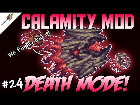 The Ultimate Fight - Supreme Calamitas Death Mode! Terraria