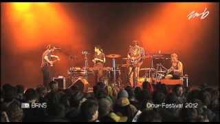Backstage Live : BRNS @ Dour Festival 2012