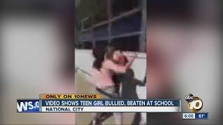Video shows teen girl bullied, beaten at school   ABC 10 News