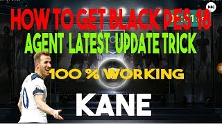 How to get black ball pes 2018 Agent Latest Update Trick 100% Working