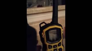 Motorola Talkbout MS350 keeps making noise, help?