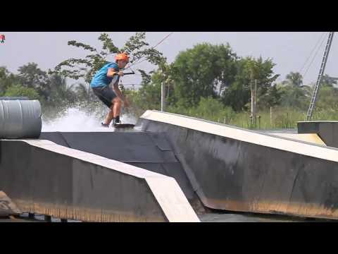 Thai wake park 2.0 pool gap!  Sang Hyun Yoon/ max/ massi