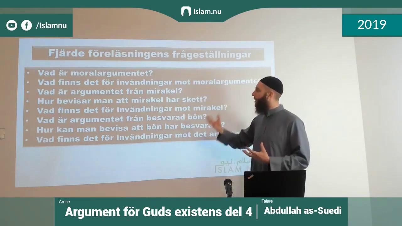 Argument för Guds existens | del 4 av 4 | Shaykh Abdullah as-Sueidi