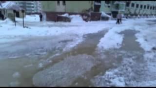 Krasnoyarsk Territory, Dudinka January 2015. Красноярский край, город Дудинка. Январь 2015