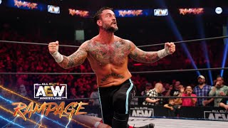 CM Punk Puts his Undefeated Streak on the Line Against Upstart Daniel Garcia   AEW Rampage, 10/8/21