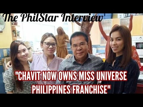 Pageant News: Chavit Singson now owns Miss Universe Philippines franchise according to new interview
