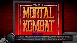MK Emulation - Midway Arcade Treasures: Deluxe Edition for PC Windows