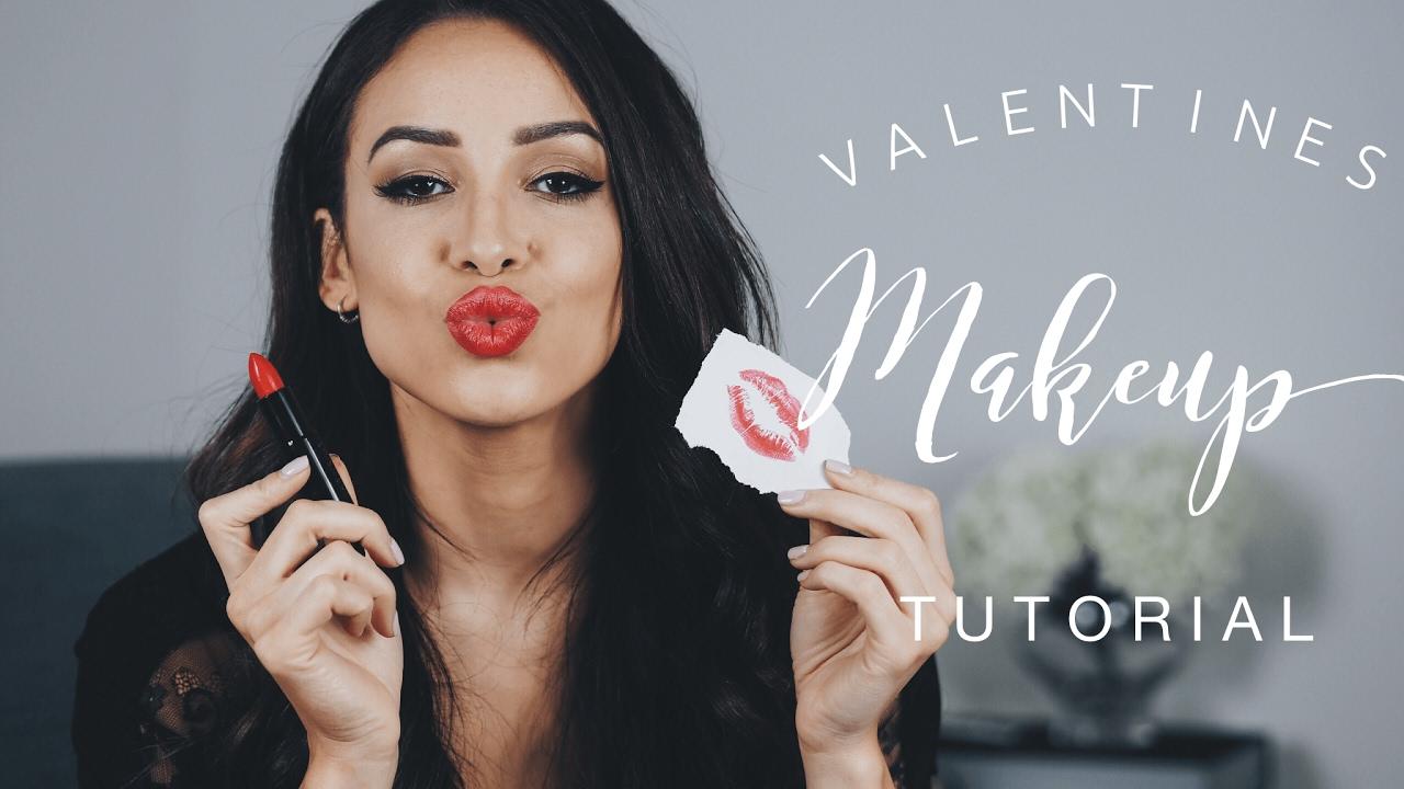 VALENTINES MAKE UP TUTORIAL & GIVEAWAY! | DANIELLE PEAZER ...