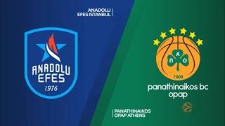 EuroLeague 31. Hafta: Anadolu Efes - Panathinaikos OPAP