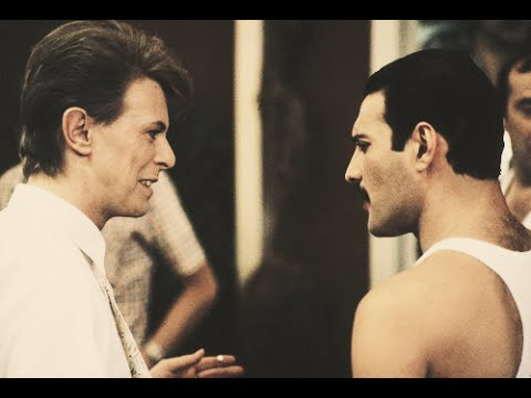 Freddie Mercury about David Bowie
