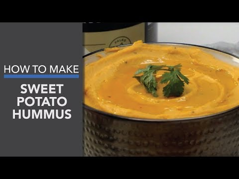 Sweet Potato Hummus Recipe (My Favorite Healthy Dip!)