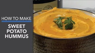 Sweet Potato Hummus Recipe (My Favorite Healthy Dip!)
