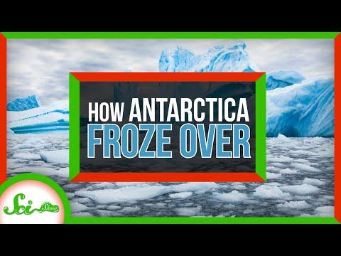 How Antarctica Froze Over