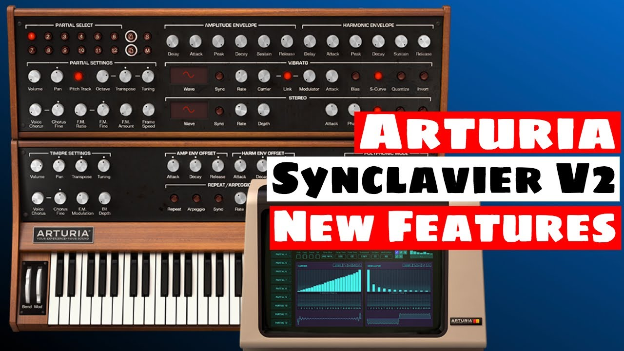 Arturia SYNCLAVIER V2 Synthesizer: Vintage Sampler & Re-Synthesis Features  | SYNTH ANATOMY