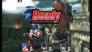 Brawl Hacks - Giant Sonic's All-Star Mode