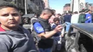 بالفيديو.. لحظة انفجار سيارة محملة بـ 30 طن بنزين في الإسكندرية