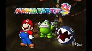 Episode 103- Mario Party 9: Game Mode 1: Mario Solo Story Part 5- Magma Mine