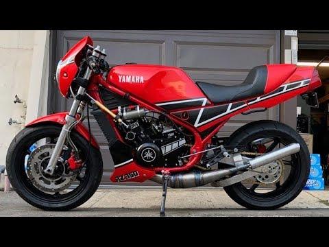 Evil RZ: Yamaha RZ350 / RZ392 Restomod