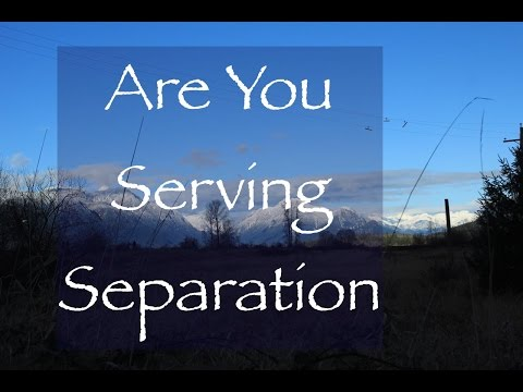 Are You Serving the Illusion of Separation? (Satsang)