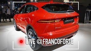 Jaguar E-Pace, il SUV in minigonna (aderente) | Salone di Francoforte 2017