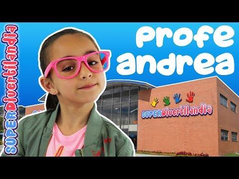 Regalo para la Profesora Andrea en el Cole SUPERDivertilandia!