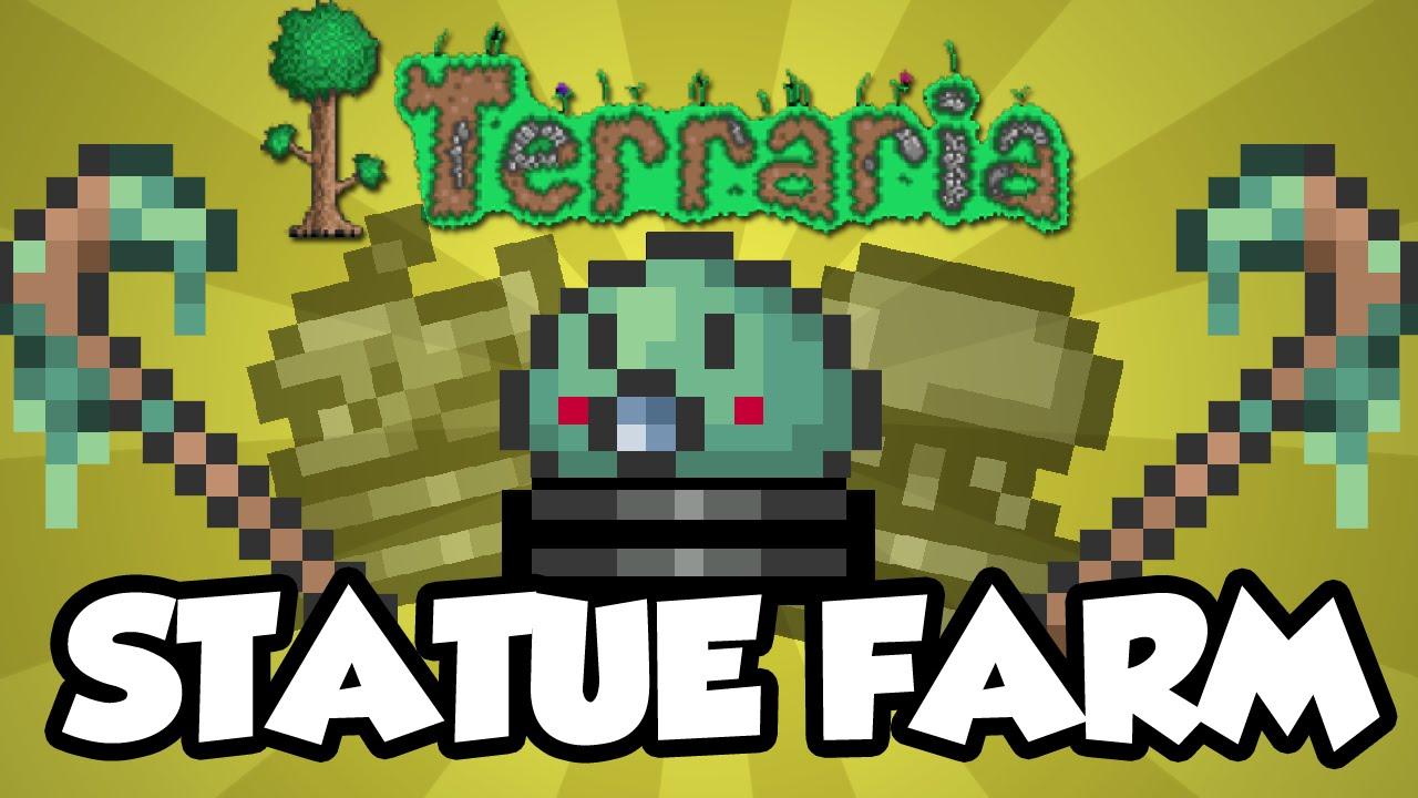 Terraria Statue Farm Tutorial How To The Slime Staff Baby Wiring Heart Simple Youtube