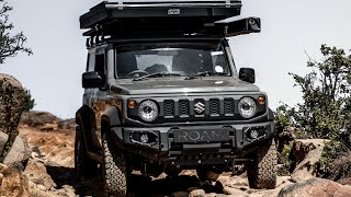 4x4 Climbing Mountains Offroad in a Jimny Part 2 of 2  (2019)