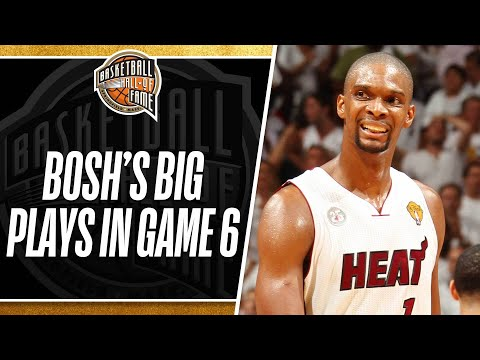 Chris Bosh's BIG plays in Game 6!