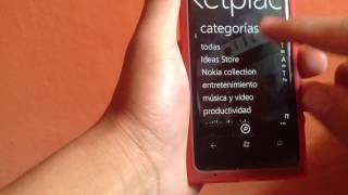 Revisando la tienda Marketplace en windows phone